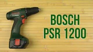 Розпакування Bosch PSR 1200
