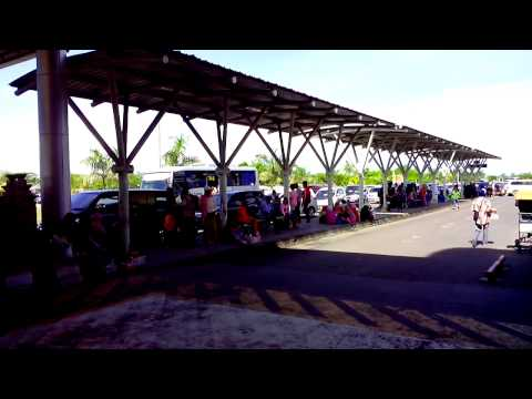 Lombok Praya International Aiport (Drop Off Area)