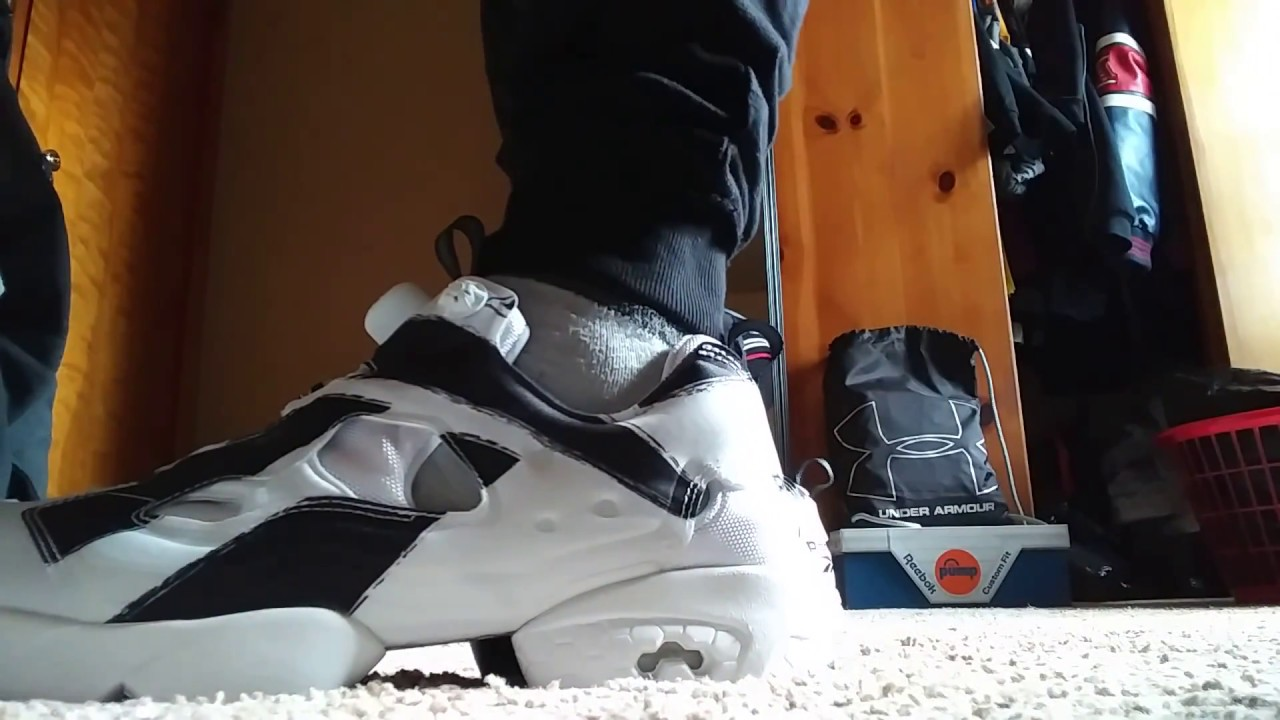 e3e1a9d7b14 REEBOK instapump Fury OG Future shoes on feet review - YouTube