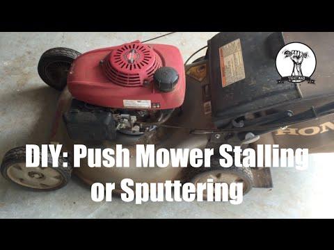 DIY: Push Mower Will Not Run - Diagnosis and Repair