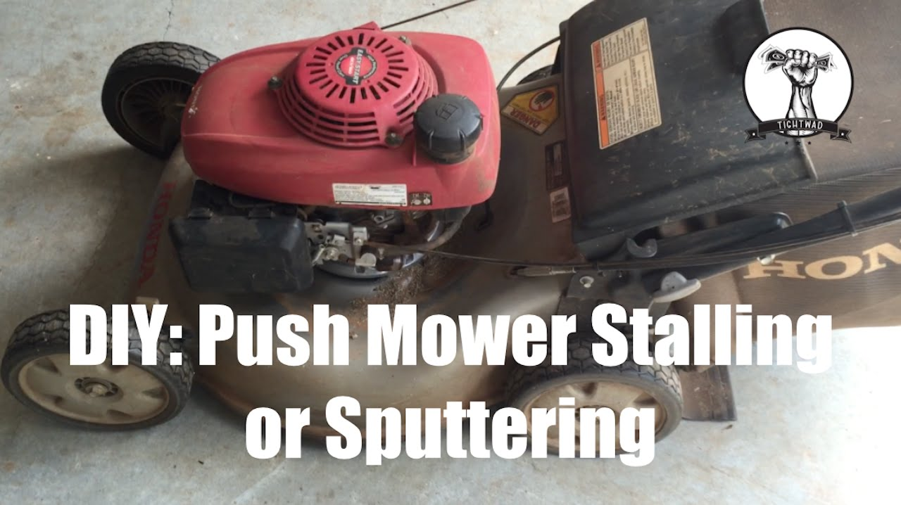 DIY: Push Mower Will Not Run - Diagnosis and Repair