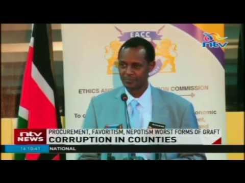 EACC report reveals massive graft in counties