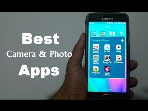 Best Android Camera & Photo Apps - November 2015