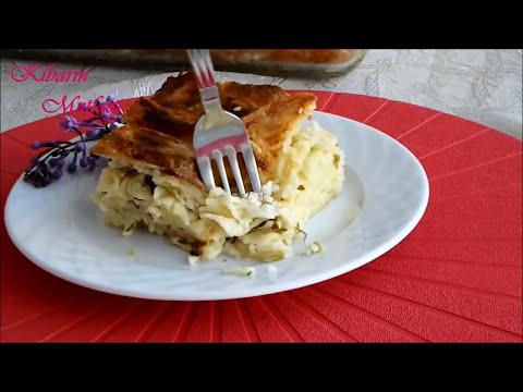 Makarna böreği tarifi - Su böreği tadında makarnalı börek nasıl yapılır - Börek tarifleri