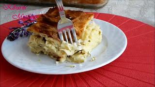 Makarna böreği tarifi-Su böreği tadında makarnalı börek nasıl yapılır-Börek tarifleri