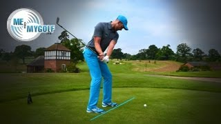 CHANGE YOUR GOLF STANCE FOR SOLID CONTACT
