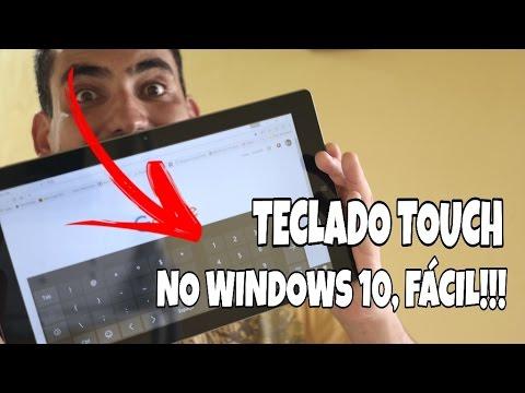 Como ativar teclado touch virtual no Windows 10 - Dicas rápidas