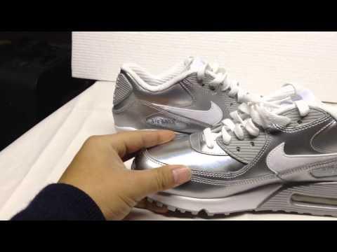 Nike Air Max Size Uni Silver