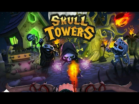 Skull Towers - Castle Defense - Android Gameplay