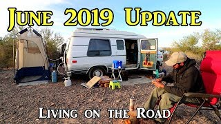 June 2019 Update -  Living on the Road