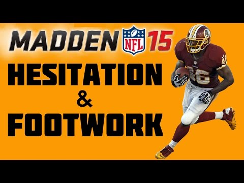 Madden 15 Running Tips - How to Hard Cut & Hesitate