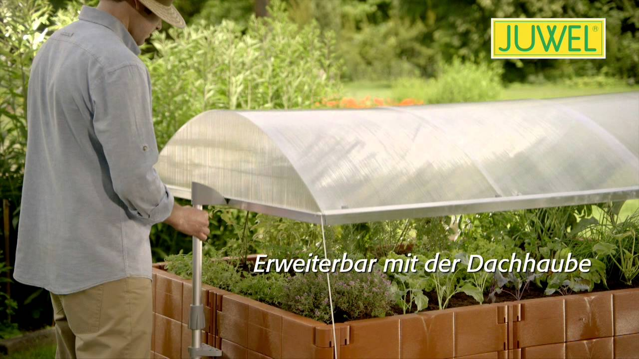 05 Hochbeet Profiline Dachhaube Animation Youtube