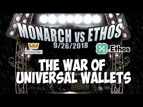 Monarch Vs ETHOS - War Of Universal Crypto Wallets - ETHOS Losing Steam and Team? 😱