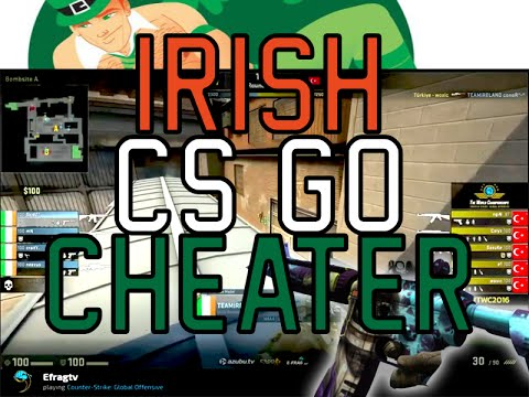 The RISE of IRISH CHEATING in CS GO
