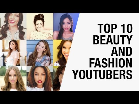 Top 10 Famous Beauty Gurus and Fashion YouTubers 2015 | Chictopia