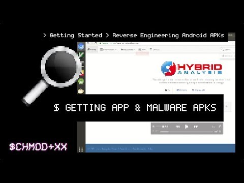 GETTING APP & MALWARE APKS / Reverse Engineering Android APKs
