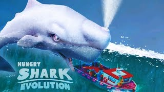 MOBY DICK Biggest Killer Whale 31,000,000 High Score! Hungry Shark Evolution