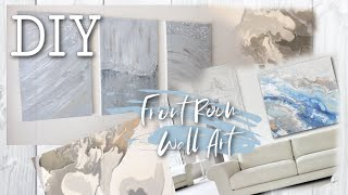My Apartment Front Room: DIY MARBLE WALL ART !