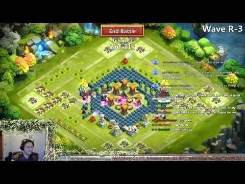 Castle Clash -  Talent Rolls, Insane Dungeons, WG 3 Solo & More