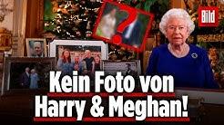Queen verbannt Foto von Harry und Meghan aus Weihnachtsansprache