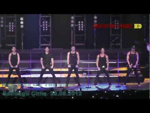 NEW KIDS ON THE BLOCK / You Got It (The Right Stuff) / Santiago Chile 20.06.2012 [ Full HD 1080I]