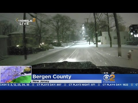 Checking Out Road Conditions In Bergen County