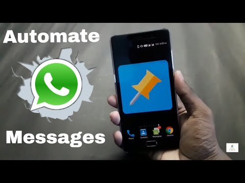 Automate whatsapp messages!!! [also calls, messages, emails, fb messages ]