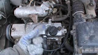 Как картерные газы должны пульсировать из горловины двигателя