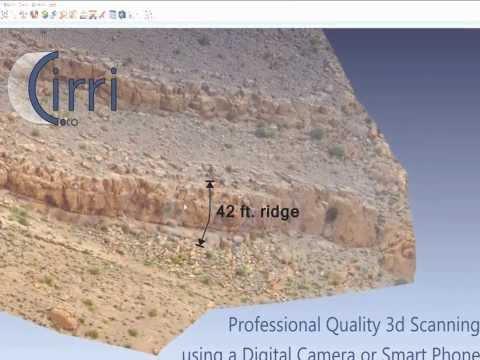 0 - Cirri 3D-Scanner Software erstellt 3D-Modelle aus Fotos