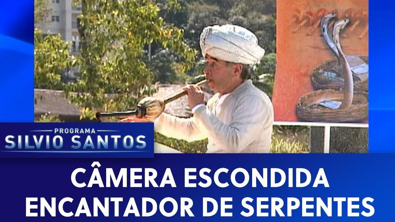 Encantador de Serpentes | Câmeras Escondidas (20/09/20)