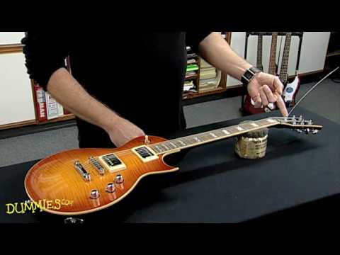 how to string an electric guitar for dummies youtube. Black Bedroom Furniture Sets. Home Design Ideas