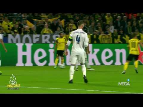 Aciertos, fallos y liderazgo de Sergio Ramos contra el Dortmund