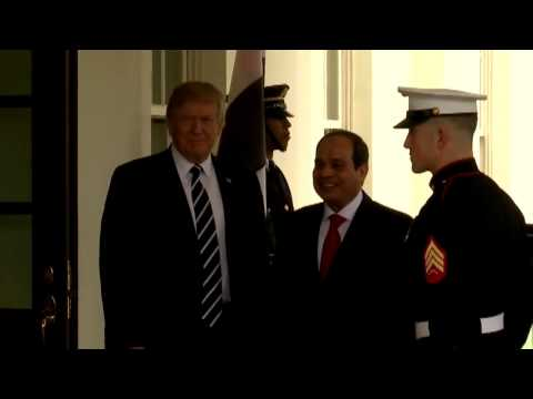 WATCH: President Trump Welcomes Egyptian President Abdel Fattah el-Sisi