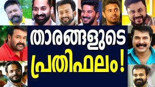 Malayalam Film Actors Remuneration ( 2016 ) - താരങ്ങളുടെ പ്രതിഫലം