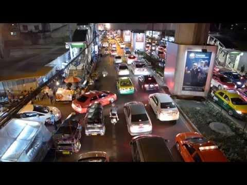 Sukhumvit Road Bangkok around BTS Station Nana - Impressions at night (November 2014)