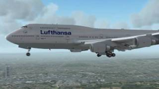 Lufthansa - an FS2004 movie (HD)