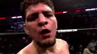 Nick Diaz - It's Dark and Hell is hot (Nick Diaz highlights 2015)