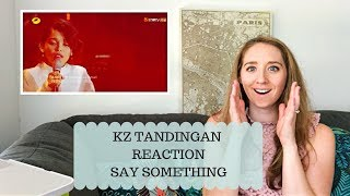 Voice Teacher Reacts to KZ Tandingan Say Something