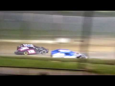 Modified feature race at brushcreek motorsports complex 7/30/17