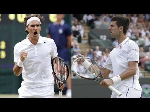 Federer vs Djokovic : 3 Legendary Matches