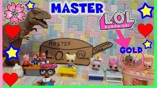 Baixar MASTER LOL SURPRISE challenge e nuova LIL CONFETTI wave 2 GOLD!! Parodia e Unboxing by Lara e Babou