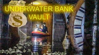 ABANDONED BANK FOUND WITH MASSIVE VAULT (FLOODED) - Chicago, Illinois