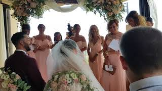 Jo Mallel Bordio Divino Ceremonie  Barbara et Ennsio  Les Demoiselles  d