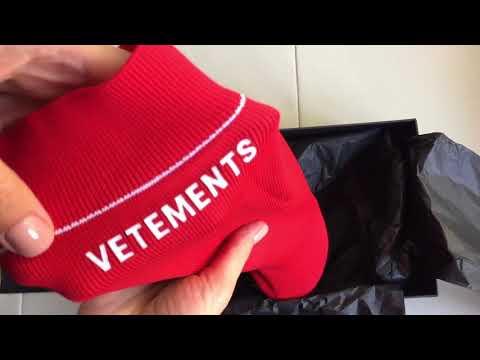 Vetements Lighter Heel Sock Ankle Boots Unboxing