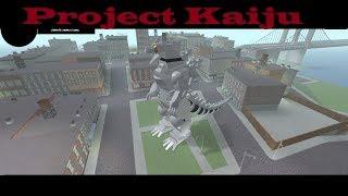 Roblox Project Kaiju - Kiryu/Mecha Godzilla Update!