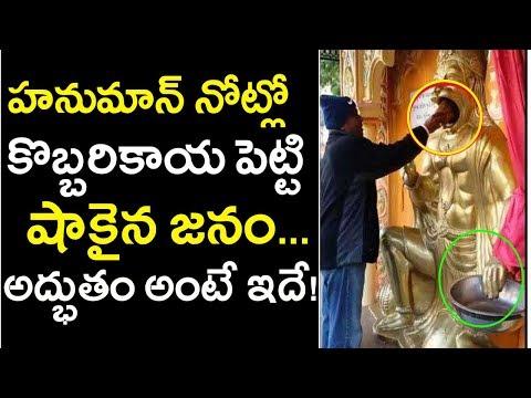 Hanuman Idol In Salangpur Goes Viral | Lord Hanuman Idol With Latest Technology | Tollywood Nagar