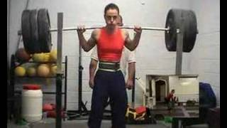 Kirstie Law Full Back squats 135kg at bodyweight of 56kg
