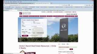 Circle C Ranch Homes for Sale | Circle C Austin | Circle C Homes | Circle C Ranch Real Estate