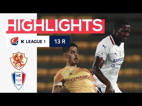 Gwangju FC Suwon Bluewings Goals And Highlights