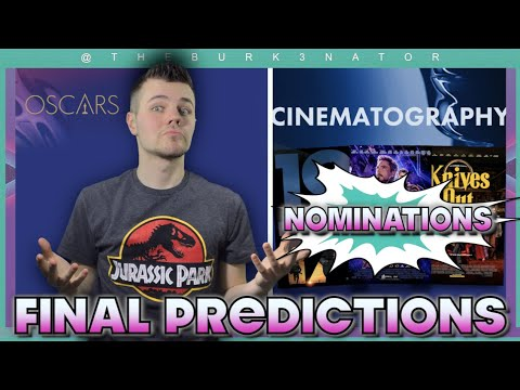 Final 2020 Oscar Nomination Predictions